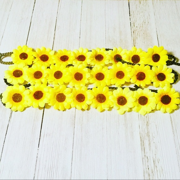 Other - 3 Sunflower Flower Crowns